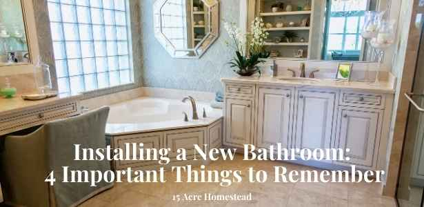 New bathroom featured image