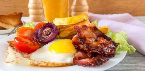 a hearty homestead breakfast