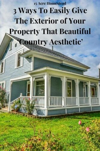 The exterior of your property can be easily transformed with these 3 simple tips.