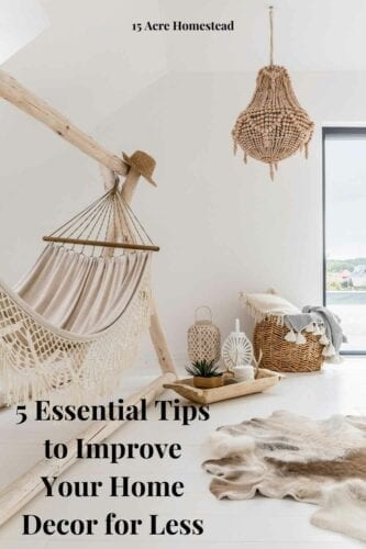 Improve your home decor without spending a lot of money with these helpful tips.