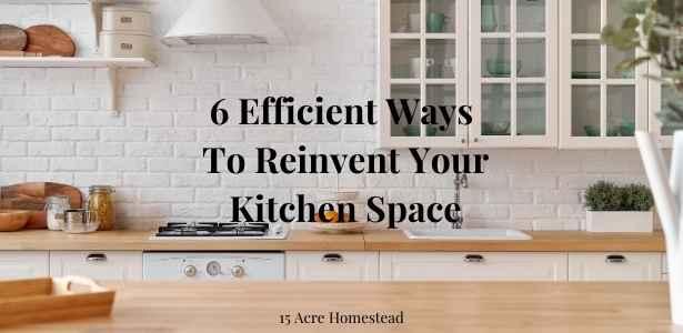 reinvent your kitchen space