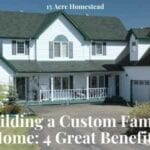 custom family home