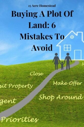 There is a lot to think about when buying a plot of land. This can lead many people to make costly mistakes. Before you just jump head first, you should take a few things into consideration