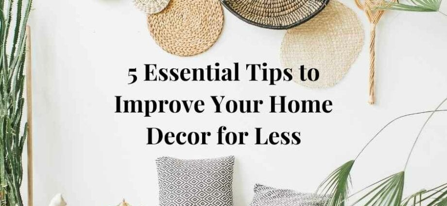 Improve your home decor featured image