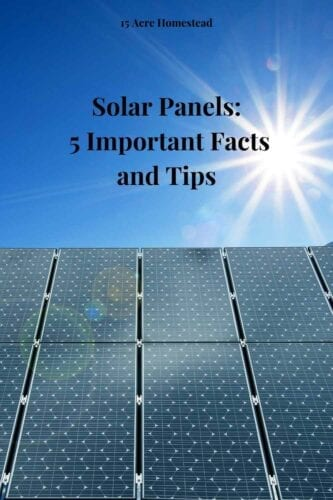 :These facts and tips can be helpful if you are thinking about going solar in your home.