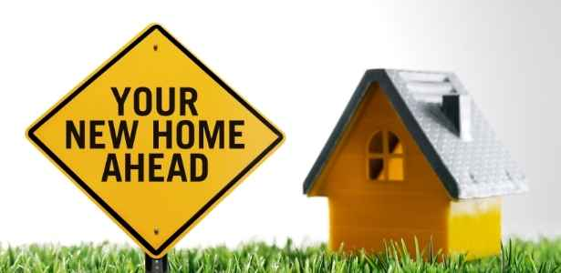 Your new home sign