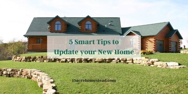 5 smart tips to update your new home