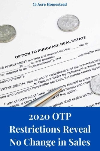 In 2020, the government decided that Options to Purchase (OTPs), a contract that gives a buyer the right to buy from a seller, could no longer be issued.  Social Media Description 2: