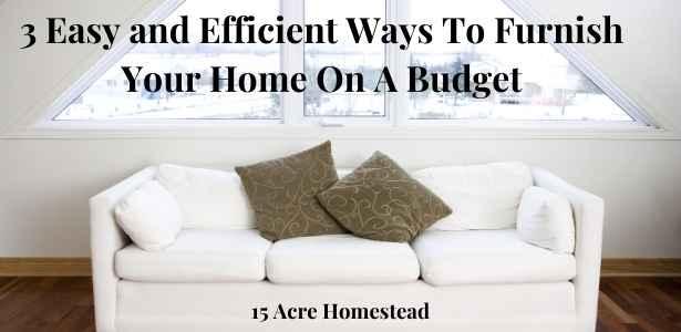furnish your home on a budget featured image