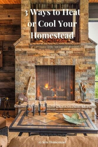 Everyone's ideal homestead dream looks a little different, but it should always be a cozy place where you feel at home. Whether you want a crackling wood stove or don't mind a few high-tech heating solutions, it's perfectly possible to design a homestead that will always feel like the best place in the world, even in the depths of winter.
