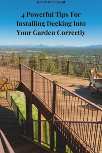 Getting decking installed is definitely going to elevate your garden space, so use these tips to make the most out of it and to hopefully enjoy more time spent in the garden as a result.