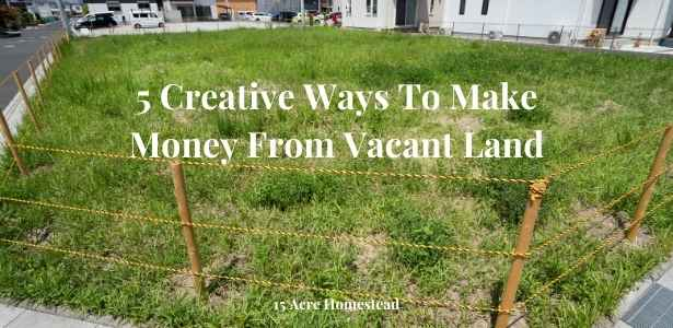 make money from vacant land featured image