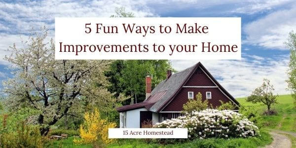 make improvements to your home