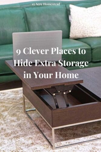 Hidden storage can be a great option if you want to have lots of storage spaces around your home. You can find lots of places to put things without having to sacrifice space that you might otherwise use for anything else. Here are some places to put hidden storage to maximize your storage space.
