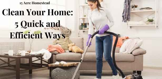 Clean your home featured image
