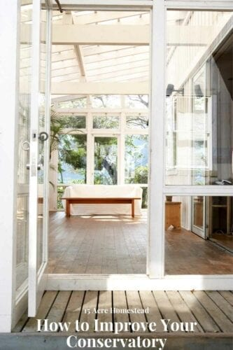 As a modern homeowner, you can improve your conservatory, and use it as an extra living space or as a hosting spot for tea parties aside from the main house.