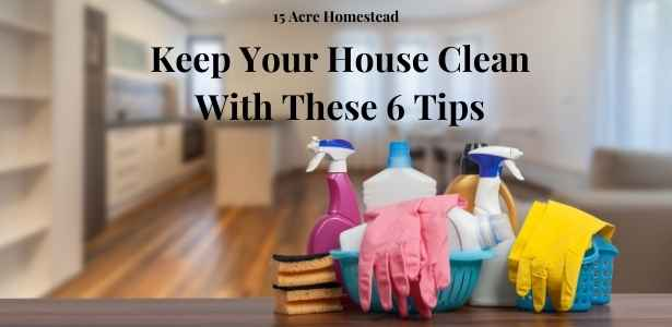 keep your house clean featured image