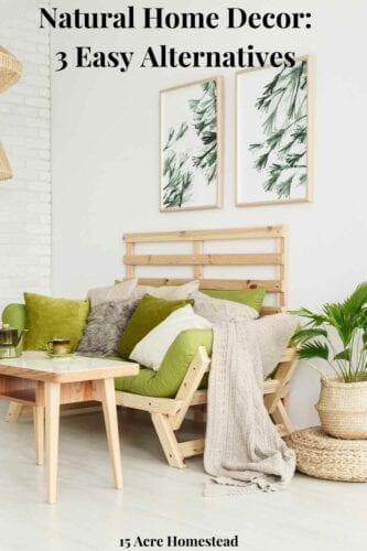 Utilizing natural home decor does not have to be difficult. Use these 3 tips to do so in your home today!