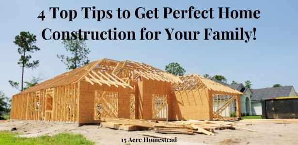 perfect home construction featured image