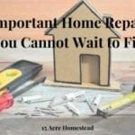 important home repairs featured image