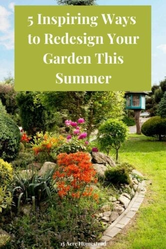 In this post, you will find a list of awesome ideas to redesign your garden for the sunny season. It includes patios, decking, raised beds, paths, and water features.