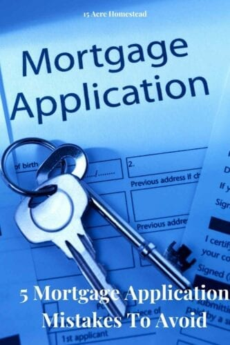 Mistakes during the mortgage application process could result in you getting rejected or spending more than is necessary. Below are just five of the biggest mistakes that people make when applying for a mortgage.