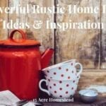 rustic home decor featured image