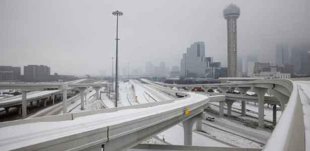 Dallas in the winter