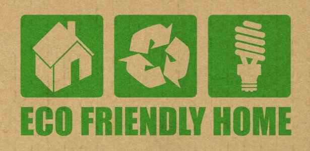 eco-friendly home sign