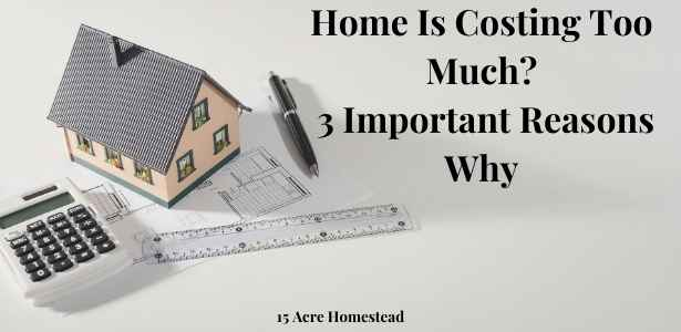 In this post, we are going to take a look at some of the ways why your home is costing too much, and discuss what you can do about them.