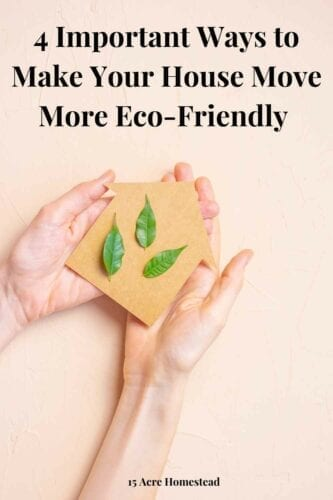 Your moving day is the first day of the rest of your life, even if you're not a fan of moving. And if you wish this process to go smoothly, try to be as careful and make your house move more eco-friendly as possible.
