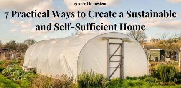 sustainable and self-sufficient home featured image