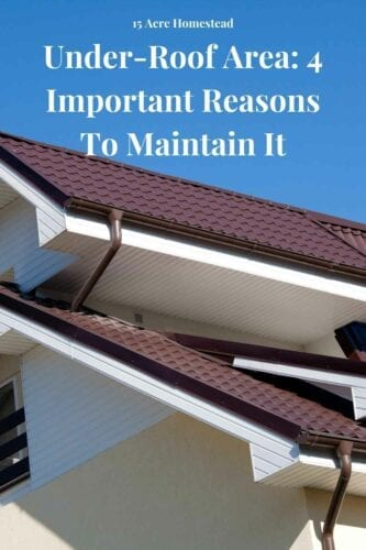 he under-roof area tends to be underused. A lot of homeowners leave the space underneath the roof unfinished, as they much prefer focusing their home improvement efforts on existing rooms.