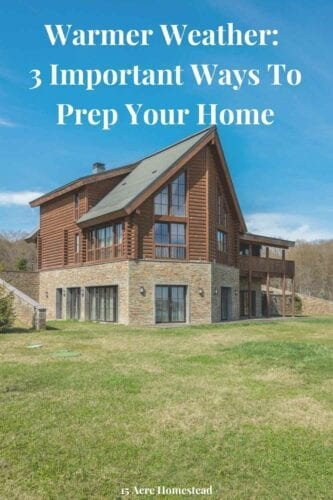 After months of being inside and the outside air being so cold, when everything starts to warm up and we head towards summer, we will all want to make the most of it. This means ensuring that you prep your home so it is ready for the warmer weather so that you can enjoy it without any worries.