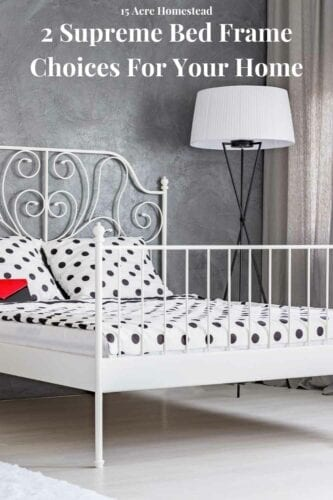 The main piece of furniture in any bedroom is the bed and thus you need to put in a lot of thought when deciding which bed frame to go for. This post will help you by revealing the top two different types of bed frames companies offer.
