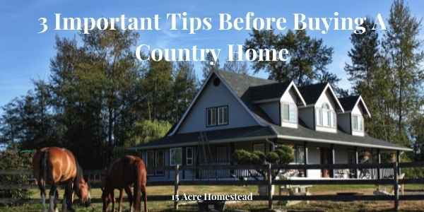 country home featured image