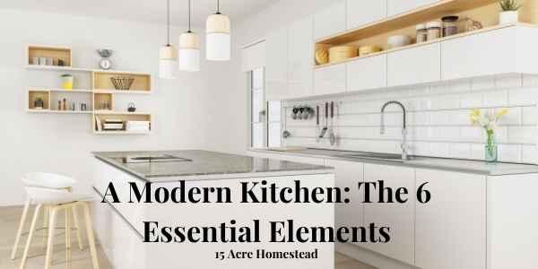 modern kitchen featured image