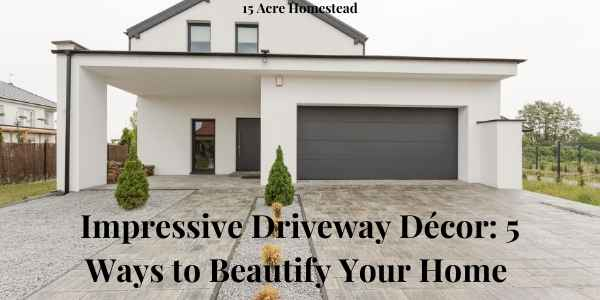 driveway decor featured image