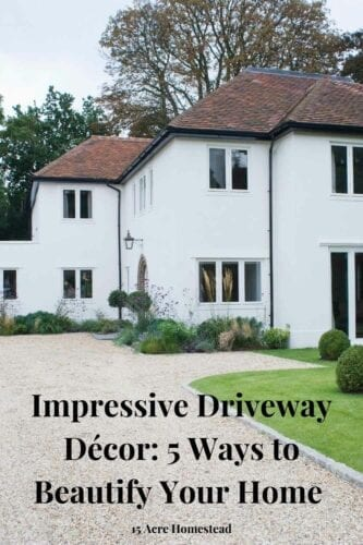 Beautifying your driveway decor with a few stylish design choices can add value to your home, however, making it a must for anyone interested in selling their property for a healthy return on their initial investment.