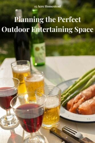 """The perfect outdoor entertaining space should be a celebration of that. However you choose to design and set up the outdoor entertaining space, be sure to incorporate the key elements – """"Eat, drink and be merry"""" as a sure-fire guide to success."""