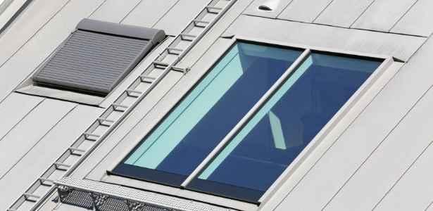condo roof hatch as a skylight