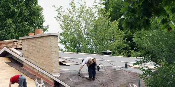 new roof being updated