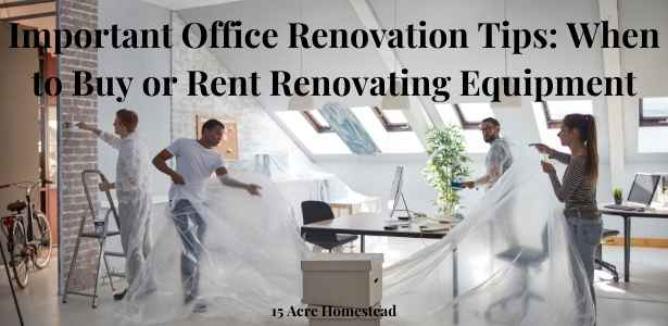 office renovation featured image