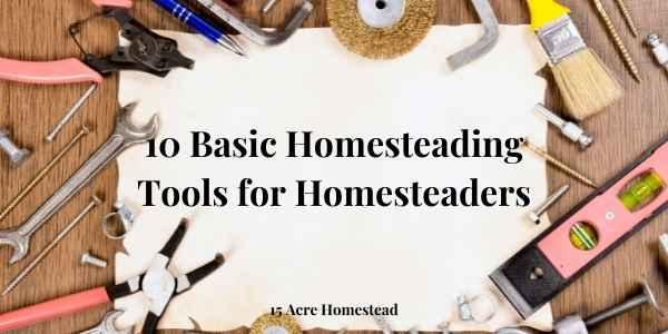 basic homesteading tools featured image