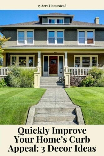 Use these ideas to improve your home's curb appeal without breaking your back or bank.