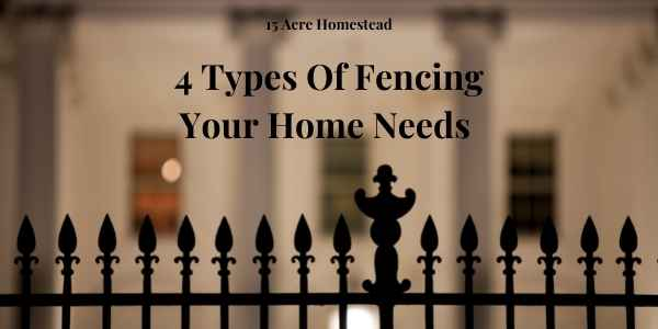 types of fencing featured image