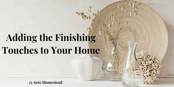 finishing touches featured image