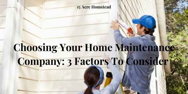 choosing your home maintenance featured image