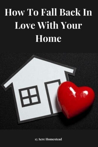 Learn how to fall in love with your home again using these simple ideas and suggestions.