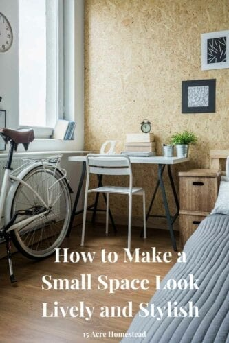 Use these tips and tricks to make small spaces in your home look lively and stylish.